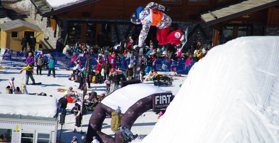 Contest Europeo snowboard Bardonecchia
