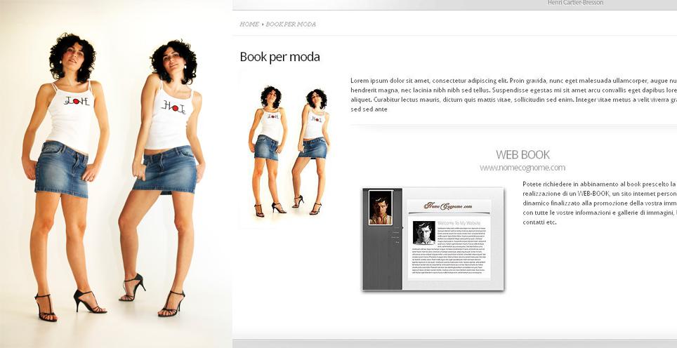 Servizio di WEB – Book